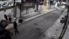 فيديو- محاولة سرقة محل ذهب في طولكرم