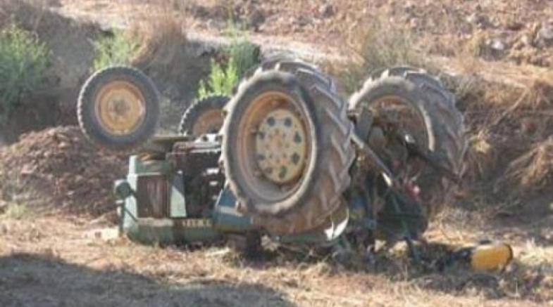 وفاة مواطن بانقلاب جرار زراعي شمالي نابلس