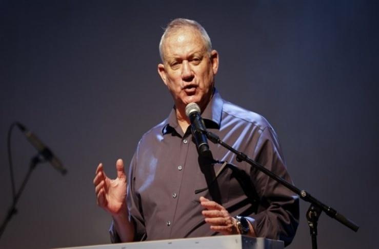 وزير الجيش الاسرائيلي بني غانتس